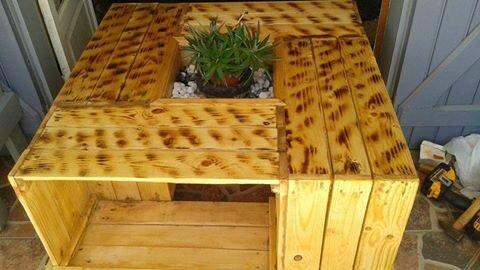 Table basse fabriquée par Marie Annise Boyer