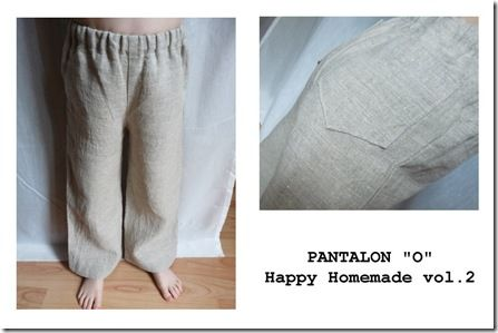 Pantalon o lin