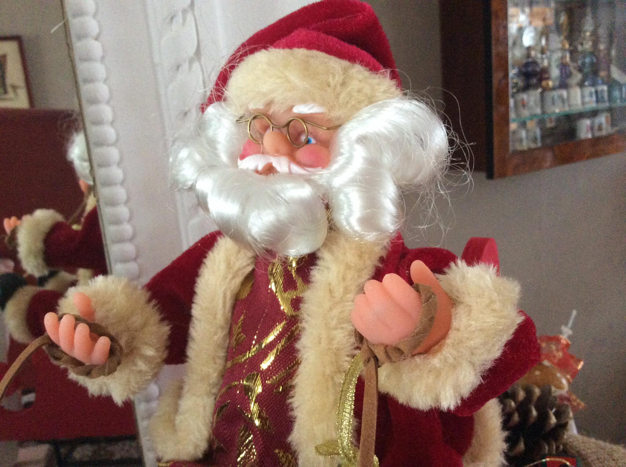 Le Père Noël arrive !