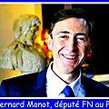 Bernard monot présente le bulletin économique du front national du 10/06/2016