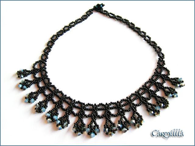 Drop Lace Necklace5