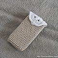 Crochet 2013 - Etui Smartphone Iphone 05