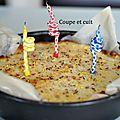 Gâteau à la noix de coco...le préféré de mon pioupiou....
