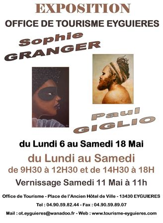 Affiche Expo Granger - Giglio (1)