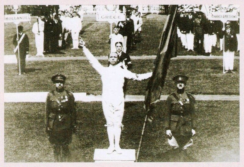 CPM Anvers JO 1920 Victor Boin Serment olympique R