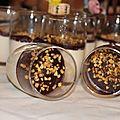 Panacotta chocolat - amaretto