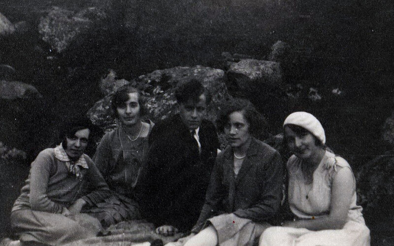 Aout 1930 Renée Bonin Alice Fourgoux and co