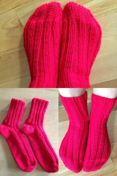 2 socks at a time