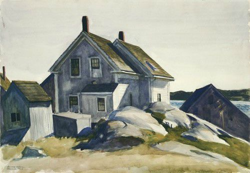 Edward Hopper House in the Fort Gloucester 1924