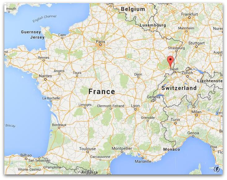 Where-is-Mulhouse-on-map-France