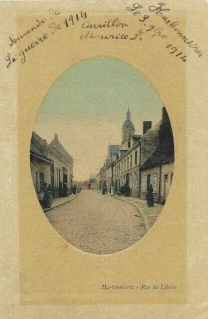 Harbonnières nov 1914