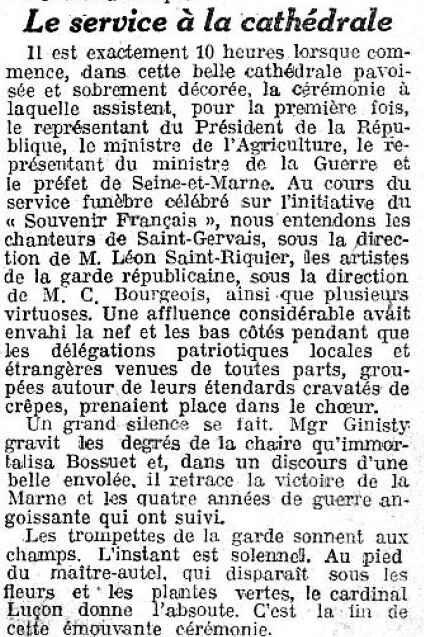 le petit journal Marne 1919 3