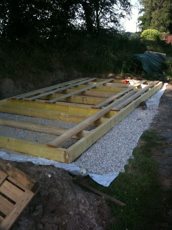 abri de jardin plancher maison en bois au bois hulin. Black Bedroom Furniture Sets. Home Design Ideas