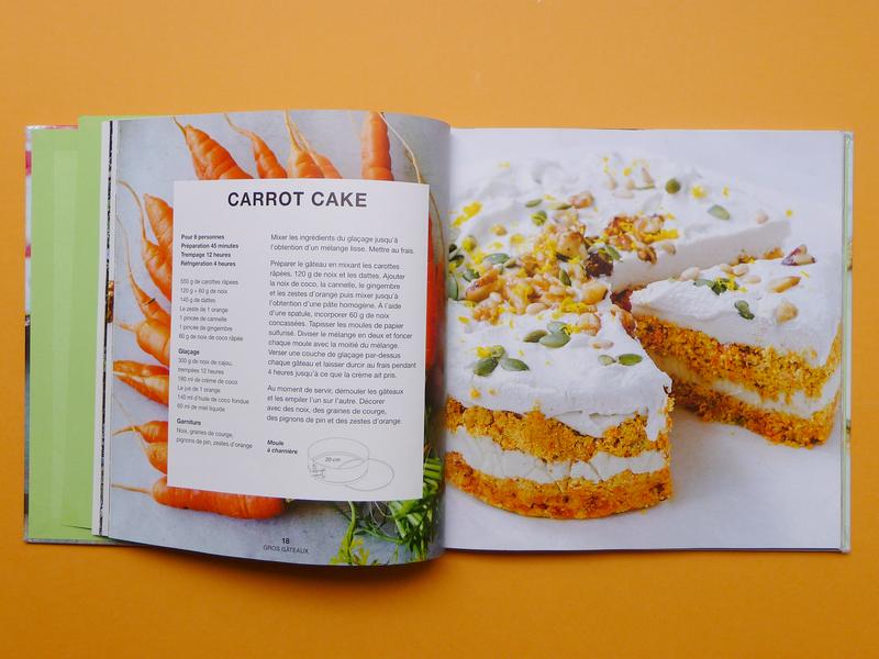 CARROT CAKE VEGAN livre