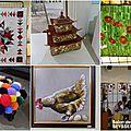 Quelques oeuvres exposées aux salons de seysses (31)