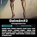 Daïmon 2, l'étrangeté dans l'art