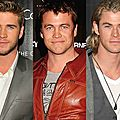 Liam hemsworth. chris hemsworth. luke hemsworth. une trilogie de cinéma