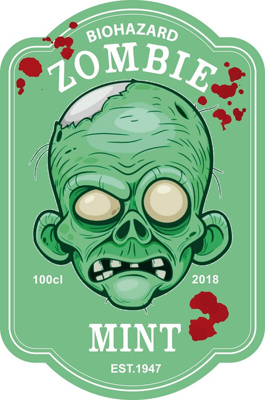 label zombie mint virus