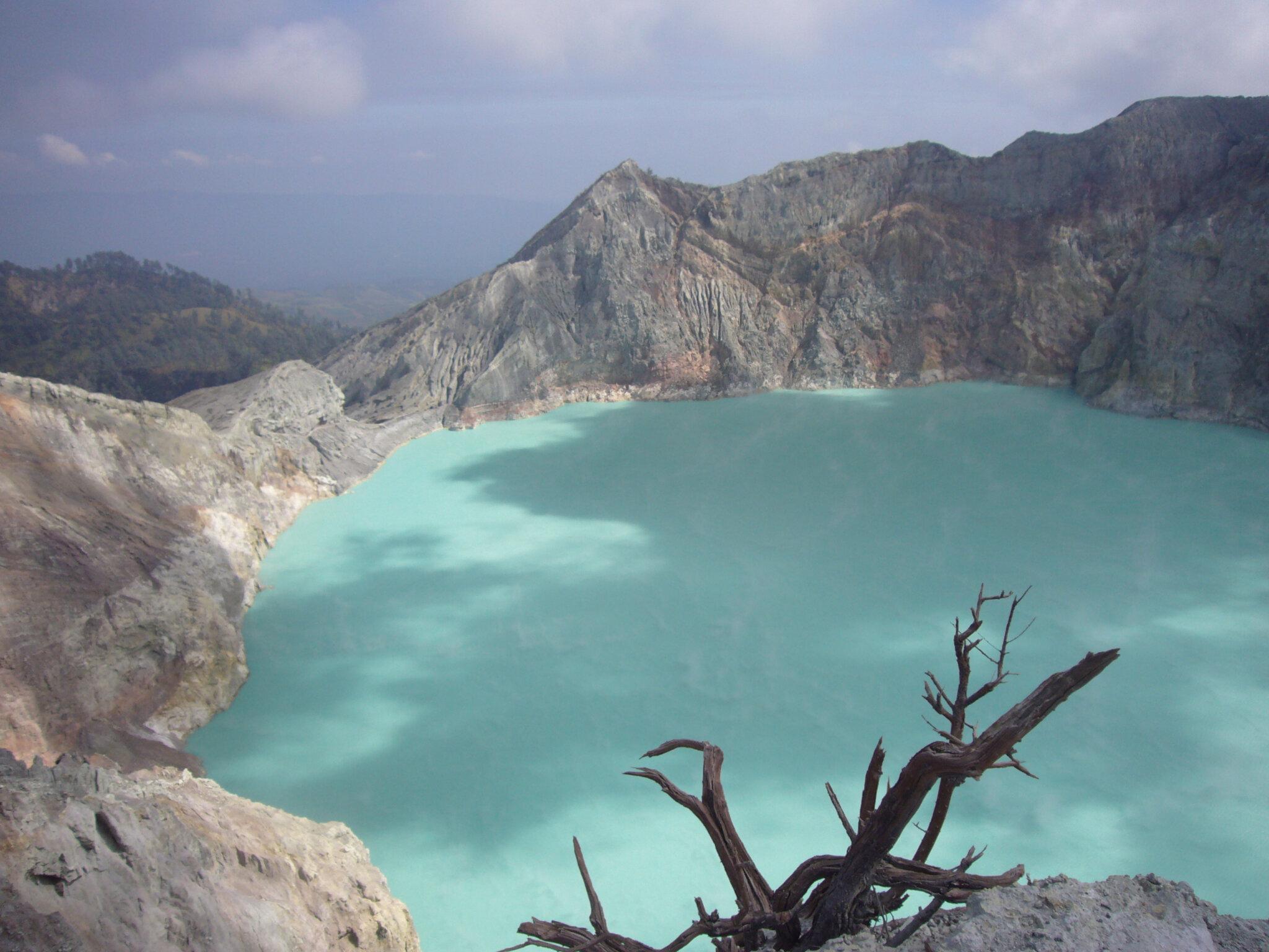 Indonesie : Kawah ijen 2009