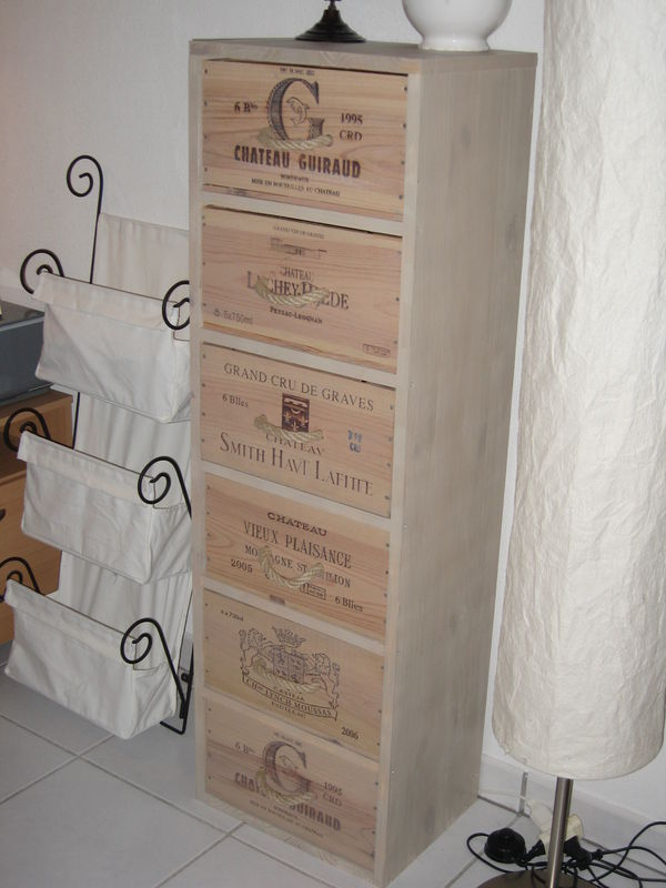 Chiffonier 6 caisses