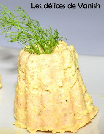 cannelés saumon fumé citron vert - cuisson micro ondes