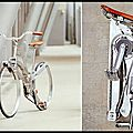 Vélo pliable - hubless bicycle - sada bike