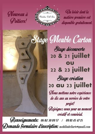 affiche stage poitiers