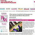 Mon article sur paroledemamans.com