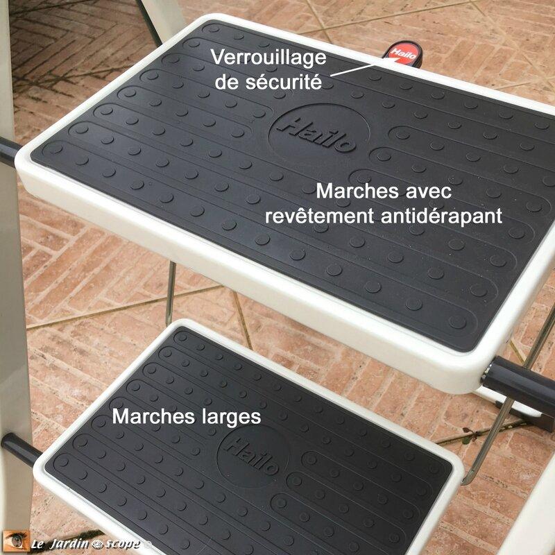 Escabeau-marches