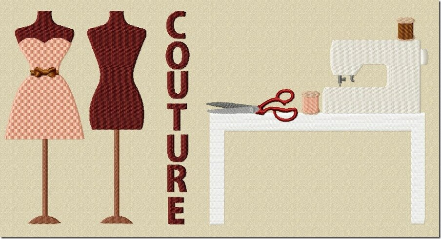Motif couture