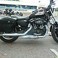 Sandrine - Harley Davidson 883 R