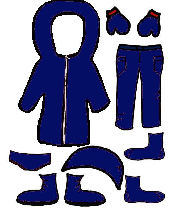vêtement filles 3 bleu