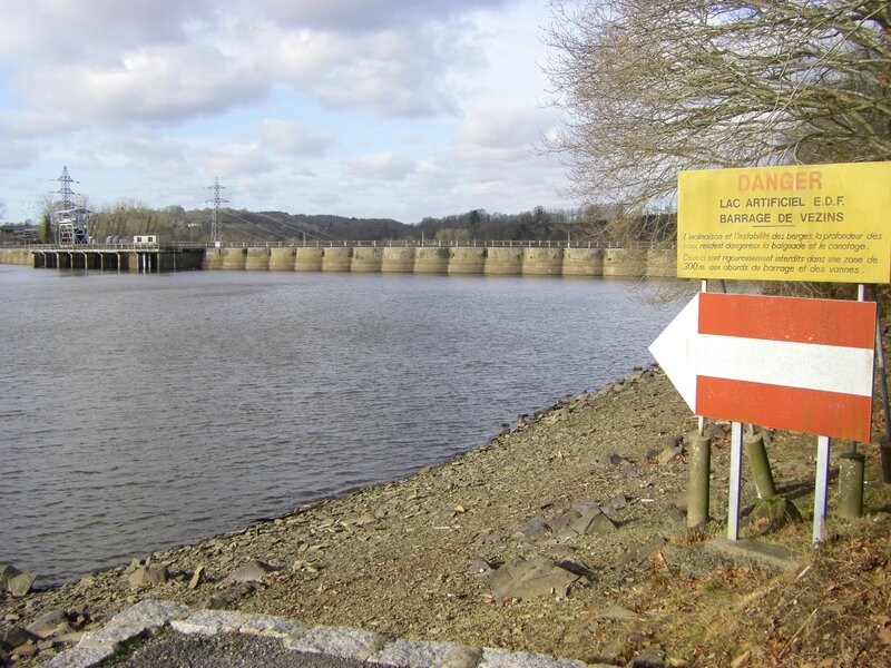 barrage Vezins Sélune