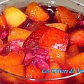 Minestrone de fruits d'été