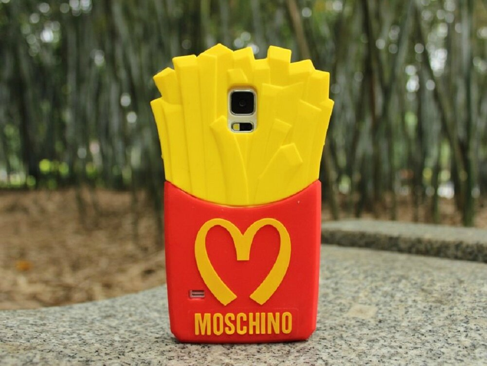coque iphone 4 silicone frite