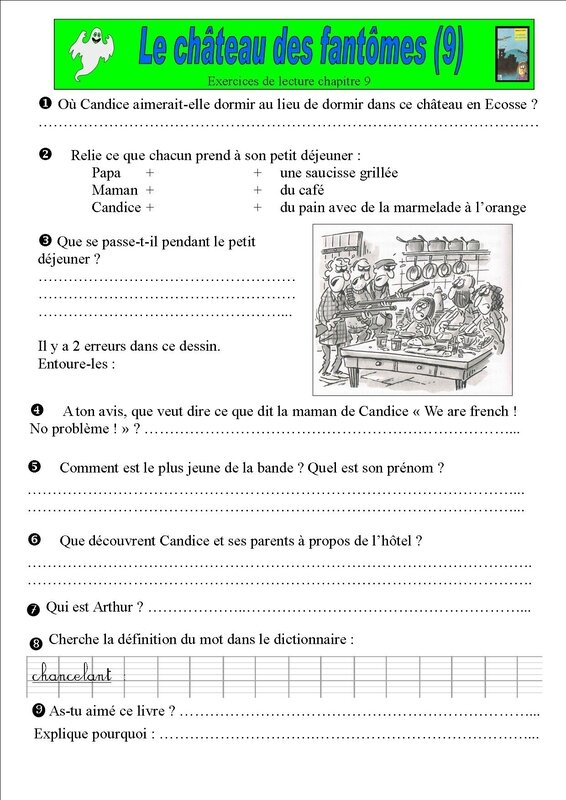 exercices chapitre 9