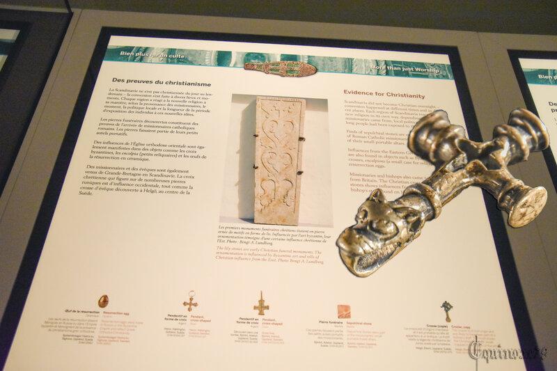 Des preuves de la christianisation des Vikings (1)