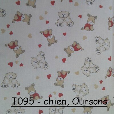 T095 - Chiens, oursons