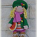 Un crochet pour une poupée