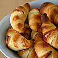 Croissants légers weight watchers