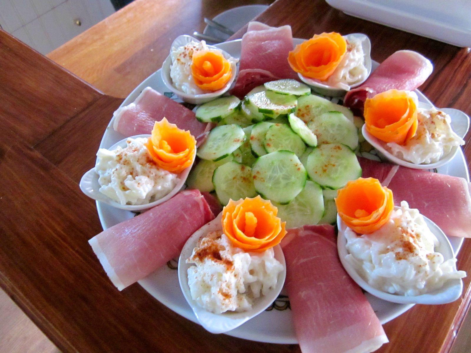 assiette de printemps
