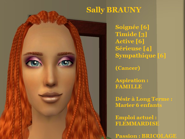 Sally BRAUNY