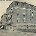 1914 - 12- 06 Hotel Europe bénévole 92 bis Biarritz