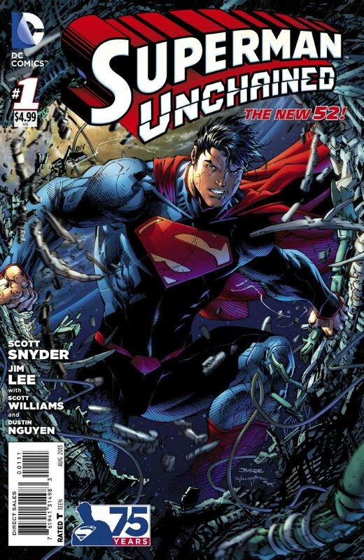 new 52 superman unchained 1