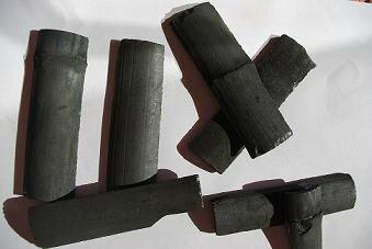 charbon de bois de bambou