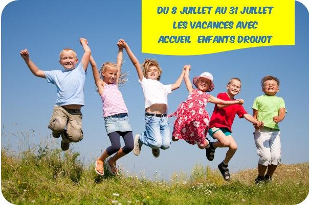 Quartier Drouot - Programme Vacances Accueil enfants Drouot juillet