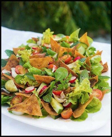 la salade fattouche