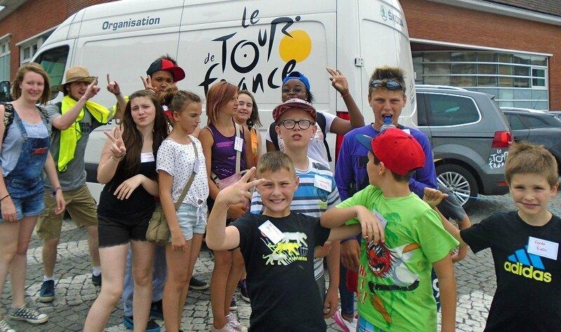 ALSH 2015 TOUR DE FRANCE jeunes organisation TdF
