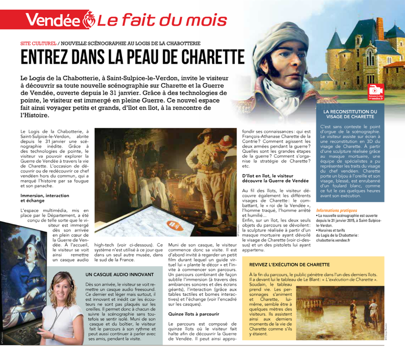 Le Journal de la Vendee - La Chabotterie