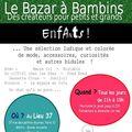 Le bazar à bambins 26 avril au 04 mai 2011